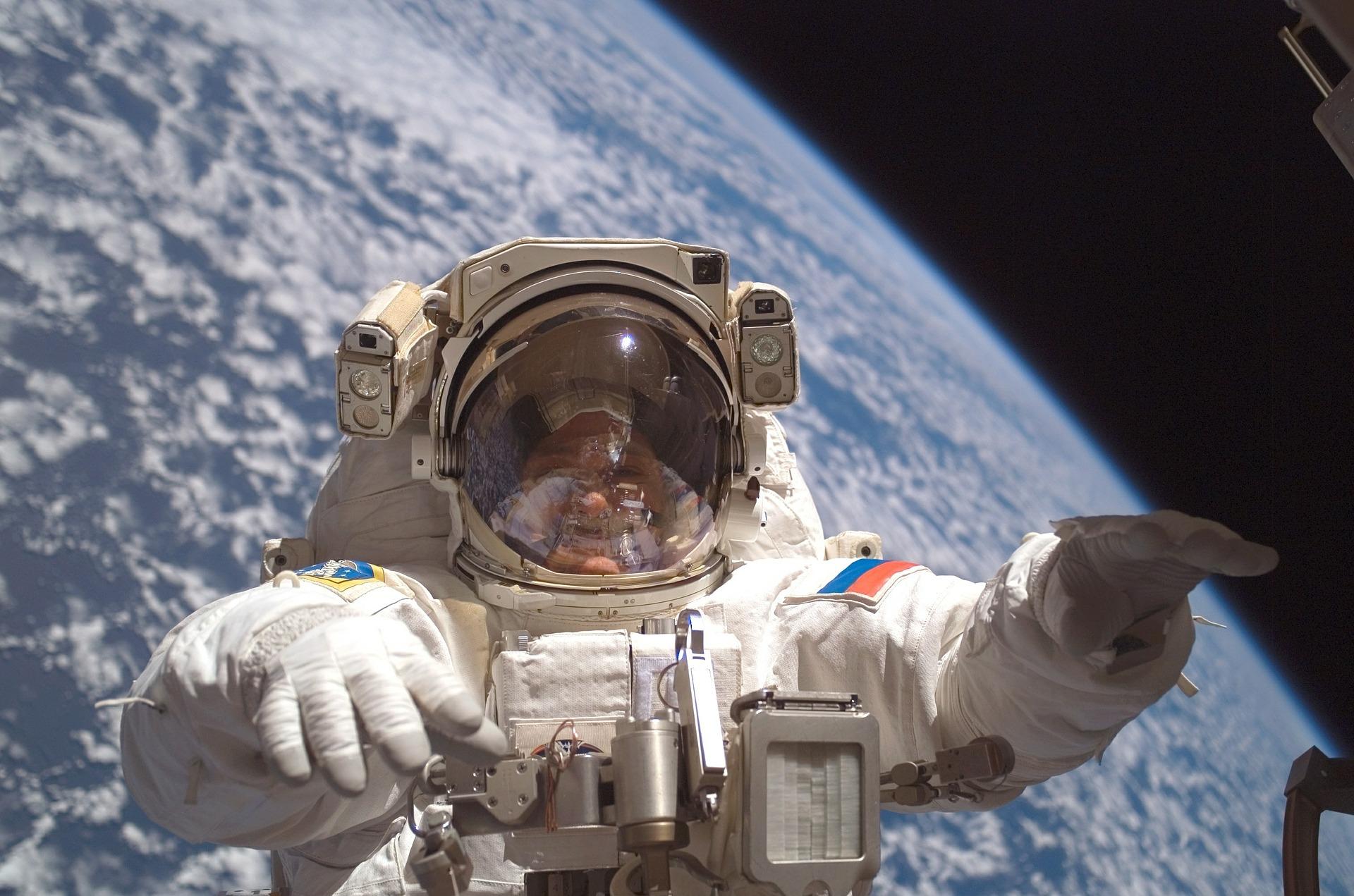 Raumstation ISS und die Schwerelosigkeit auf psd2011.de